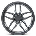 20 FERRADA F8 FR5 GRAPHITE FORGED CONCAVE WHEELS RIMS FITS LEXUS IS250 IS350