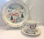 SANGO SILENT NIGHT 3900 DESIGNED BY JOAN LUNTZ 3 PIECE PLACE SETTING CHRISTMAS