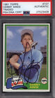 1981 Topps Traded #727 Danny Ainge Rookie Signed Auto Autographed Card PSA DNA
