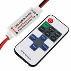 NF 12V RF Wireless Remote Switch Controller Dimmer for Mini LED Strip Light New
