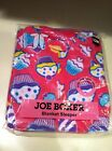 NIP GIRLS JOE BOXER PINK WITH CUPCAKES FOOTED BLANKET SLEEPER SIZE 12 MONTHS