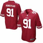 Authentic Nike NFL 2017 Game Edition SF 49ers Arik Armstead #91 Jersey