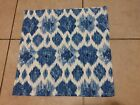 LOT OF 3 INSPIRED TREASURES BLUE WATER SPLASH 100 COTTON PLACE MATS 19 x 19