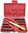 38pc Letter Number Stamping Stamp Tool Set Kit Automatic Metal Punch Stamp Set