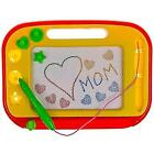 Magnetic Drawing Board Red  Yellow Erasable Magna Doodle Pad Pro for Kids
