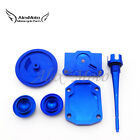 Blue Engine Dress Up Kit Valve Cap Cover For 50cc 70 90cc 110cc 125cc Lifan YX