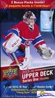 2015 16 Upper Deck Series 1 Hockey Factory Sealed 20 Box CASE-40 Young Guns RC's