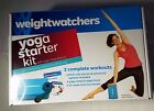 WEIGHT WATCHERS YOGA STARTER KIT DVD BLOCK STRAP SARA IVANHOE NEW SEALED
