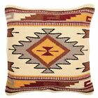 Throw Pillow Covers 18 X 18 Hand Woven Wool in Southwest Mexican and Native