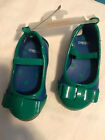 Gymboree Blue and Green Mary Janes Toddler Girl Size 3