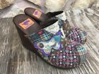ROCKET DOG Womens Brown Quilted Patchwork Clogs 4 Heel Size 9