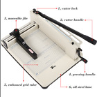 12 Heavy Duty A4 Paper Cutter Guillotine Trimmer Machine Stationery Industrial