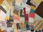 Lot 50 6x6 Retired DSP designer paper squares  Stampin UP