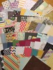 Lot 25 6x6 Retired DSP designer paper squares  Stampin UP