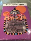 Fitz & Floyd Halloween Kitty Witches Canape Plate IOB