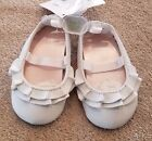 DARLING NEW WEE KIDS SIZE 3 PINK WHITE RUFFLE SHOES