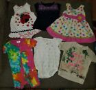 9 months baby girl summer fall clothes lot romper pajamas dress