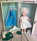 Collectible Vintage American Junior Red Cross Nurse Doll with Box Accessories