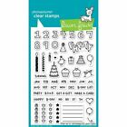 Lawn Fawn Clear Stamps 4X6 LF1340 Plan On It Birthday