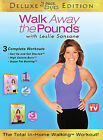 WALK AWAY THE POUNDS with Leslie Sansone 2 DVD Set Deluxe Edition