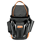 #BAHCO Electrician's Tool Pouch Bag Waist Belt Holster Holder Black 4750-EP-1
