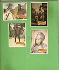 #D318. #3. FOUR SCANLENS 1975 PLANET OF THE APES TV CARDS - #59, 61, 62, 65
