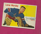 1960-61 Topps Hockey Cards 7