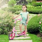 2 in 1 Mini Scooter+Wooden Seat Balance Bike for Childs Kids Age 3 - 5 Safety
