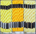 36x Needlepoint Embroidery THREAD Anchor Cotton Pearl 5 Yellow FL2