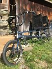 Sun tandem recumbent bicycleIPS independent power system blue good condition