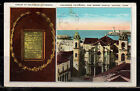 POSTCARD USED COLUMBUS CATHEDRAL AND MORRO CASTLE    k13.15