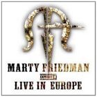MARTY FRIEDMAN - EXHIBIT A-LIVE IN EUROPE  CD NEW+