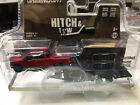 Greenlight 1/64 GREEN MACHINE Red Ford F150 Truck & Car Hauler Hitch & Tow Set