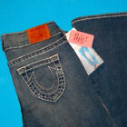 28 x 34  Pre Owned TRUE RELIGION 240 BOBBY BIG T vintage BOOTCUT JEANS