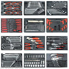 207pc mechinics hand tool set spanner double end wrenches pliers ratchet socket