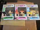 SDCC 2016 Funko Pop Powerpuff Girls Limited Edition Set of 3