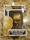 Disney Parks Exclusive Guardians of the Galaxy The Collector Gold Funko Pop
