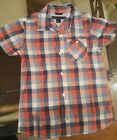 Tommy Hilfiger Toddler Boy Checkered Shirt Size 3T