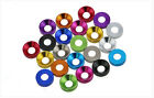 M3 M4 Multi-Color Alloy Aluminum Screw Bolt Washer Flat Countersunk Washers