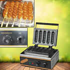 Non-Stick Electric Muffin Hot Dog Lolly Waffle Maker Sausage Baking Machine.