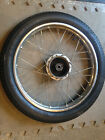 1980 Honda Express NC50 OEM Front Wheel Tire and Rim 14 Inch Spokes Hub