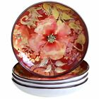 Certified International Watercolor Poppies Soup/Pasta Bowl (Set of 4) 8.5