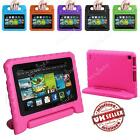 Kindle Fire 7 7th Gen 2017 2015 Kids Safe Shockproof EVA Handle Case Cover