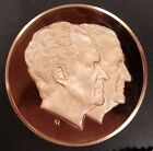 1973 Nixon/Agnew second term Inauguration bronze medal! 71 mm, 224 grams!