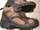 Stride Rite Jackson Toddler Youth Boys 12 Brown Leather Hiking Boots CB35806