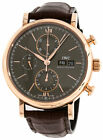 IWC Portofino Chronograph 18CT Red Gold Case Slate Dial Automatic Watch IW391021