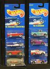 1991 HOT WHEELS LOT OF 8 ASSORTED COLLECTOR BLUE CARD DIECAST CARS 164 NEW