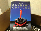 Wico Command Control Joystick Atari 2600 System or 400/800 Computers FRESH CASE