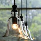 New Kitchen Island Pendant Light Fixture Glass Industrial Ceiling Hanging Lamp