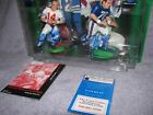 Y.A. TITTLE & SAM HUFF 1998 STARTING LINEUP NFL CLASSIC DOUBLES AUTOGRAPHED